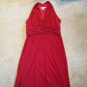 Evan-Picone Red Cocktail Dress, sz 14